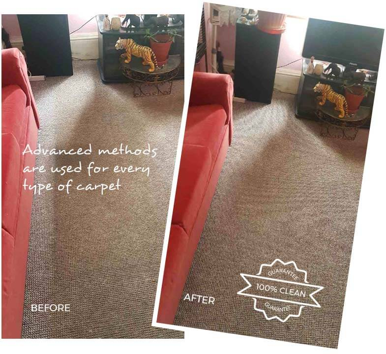 Carpet Cleaning Harley Street W1G