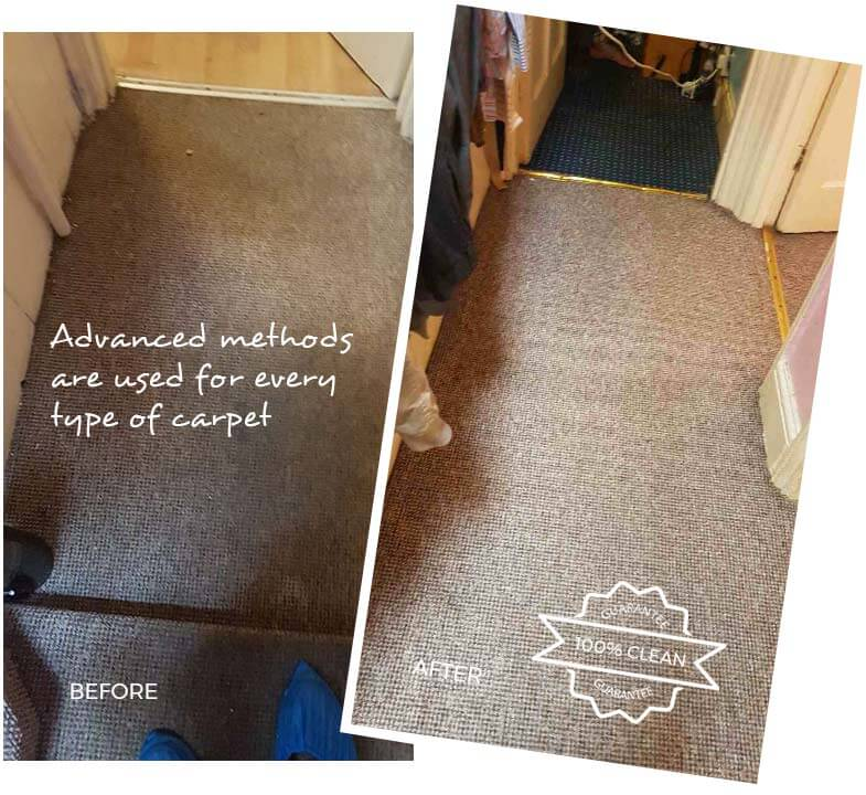 Carpet Cleaning Kingston upon Thames KT1