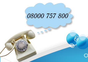 Call to book a cleaner on 08000 757 800