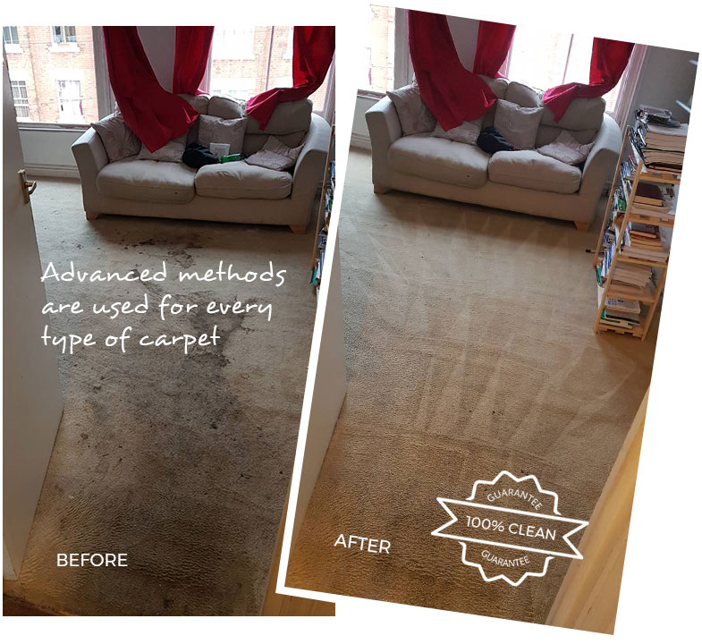 Carpet Cleaning Banstead SM7