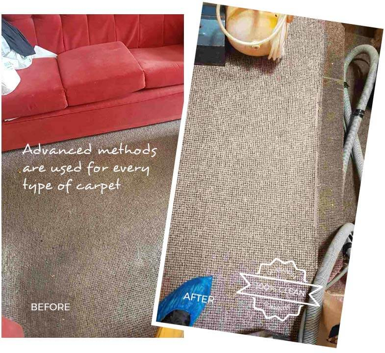 Carpet Cleaning Canary Wharf E14